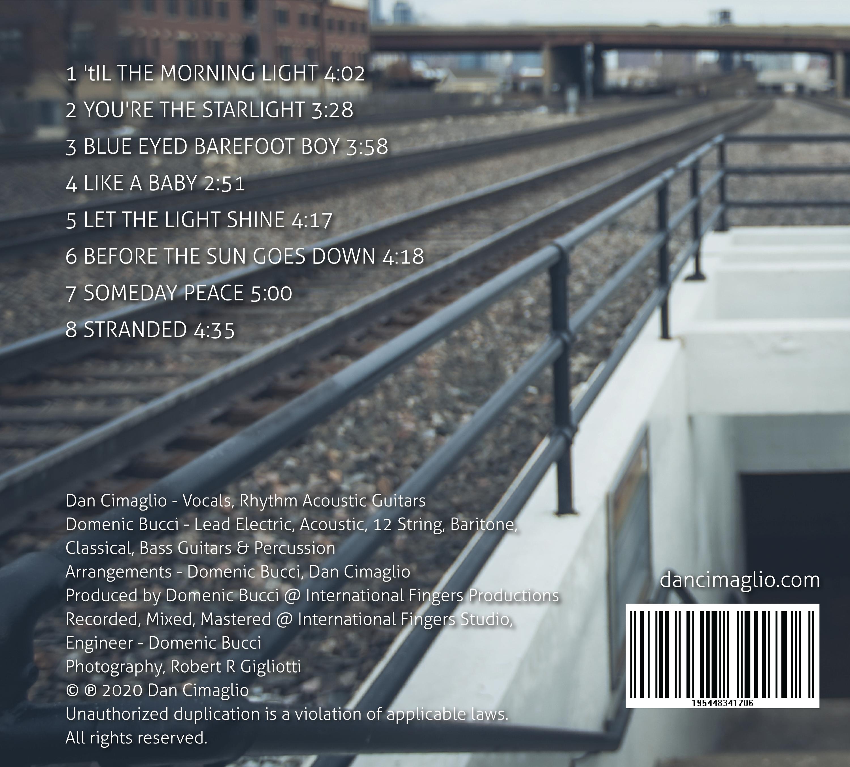 Let the Light Shine - CD Back Cover